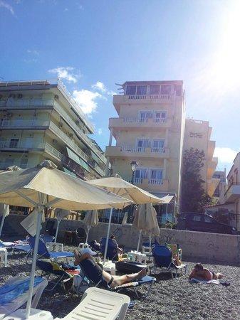 Mantas Seaside Hotel : Пляж отеля