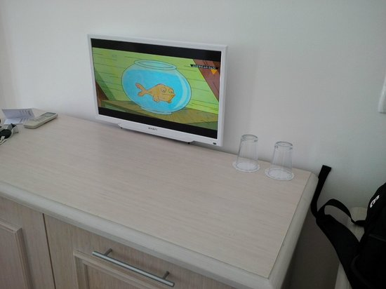 Dolce Bodrum Hotel and Beach club: TV