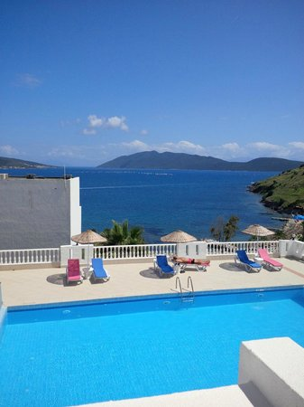 Dolce Bodrum Hotel and Beach club: View from room