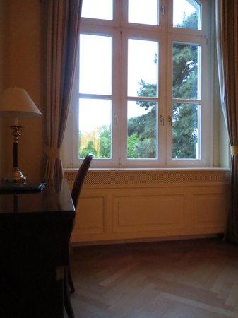 Grof Degenfeld Castle Hotel: View from room