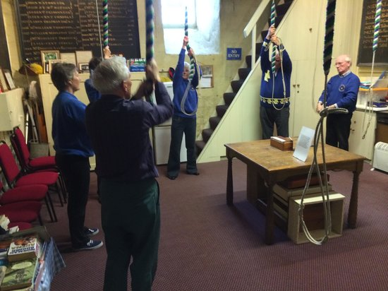 St Mary's Church: Bell ringers at work