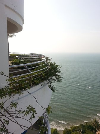Royal Cliff Beach Hotel : view from room in Grand Hotel