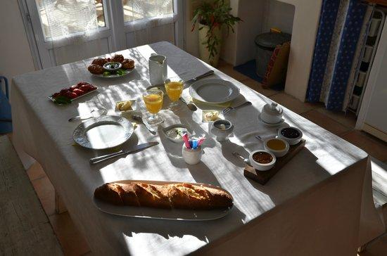 La Charlotte Aix en Provence : Le déjeuner