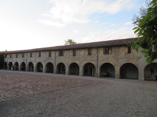 Antica Grancia Benedettina: La struttura