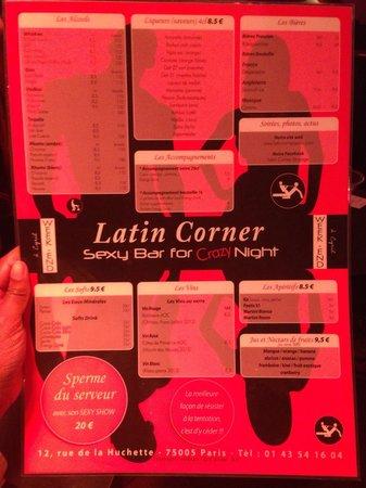 latin corner: La carte