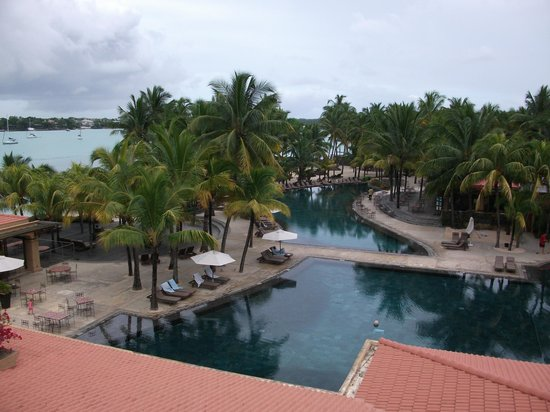 Mauricia Beachcomber Resort & Spa: View from 461