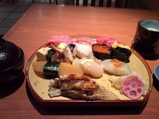 Sushitsune, Marui City Ueno: 陸奥にぎり