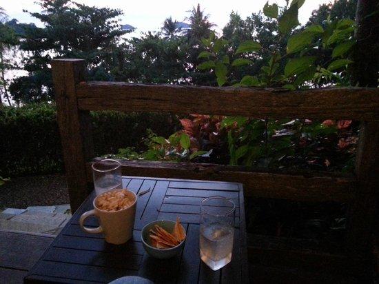 Sea View Resort & Spa Koh Chang : Utsikt och Terass