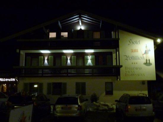 Hotel Zum Postillion: Der Postillion bei Nacht