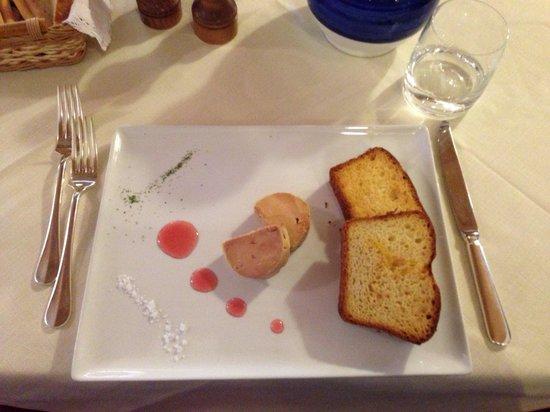 Lou Ressignon : Fois gras...divino!