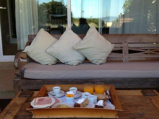 La Masía de Formentera: La colazione