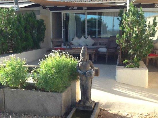 La Masía de Formentera: La veranda