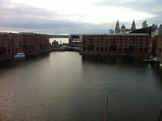 Premier Inn Liverpool Albert Dock Hotel: view from room 434