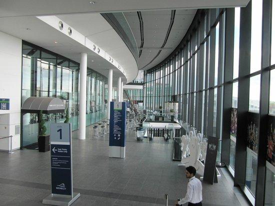 Wembley Stadium: Wembley-Lobby