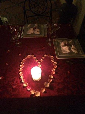 Riad Granvilier : CENA ROMANTICA