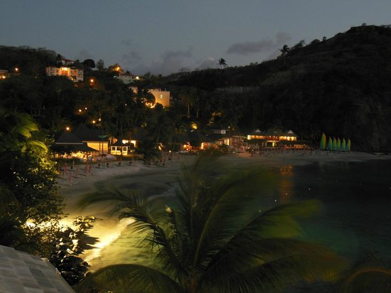 BodyHoliday Saint Lucia: The resort at dusk