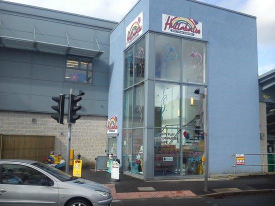 Hullabaloo Soft Play Centre: outside