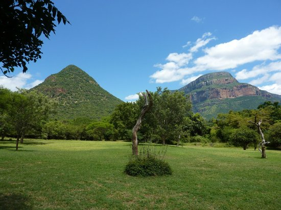 Blyde River Canyon Lodge: The view from the grounds