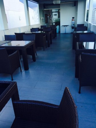 Anpha Boutique Hotel: Breakfast area