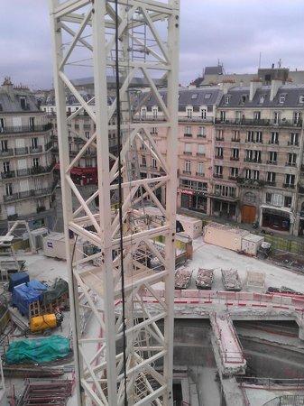 Novotel Paris Les Halles: Vistas desde la habitación