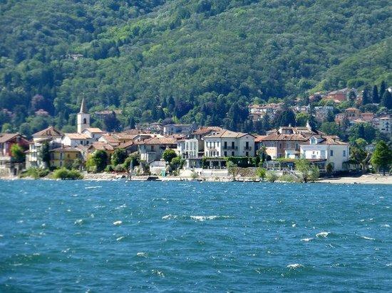 Hotel Simplon: Baveno dal lago