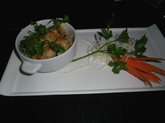 Sukhothai Harrogate : Starter - Pork Dumplings