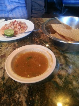 Mariscos Chihuahua: Appetizers