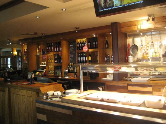 Premier Inn Carrickfergus Hotel: Brekkie