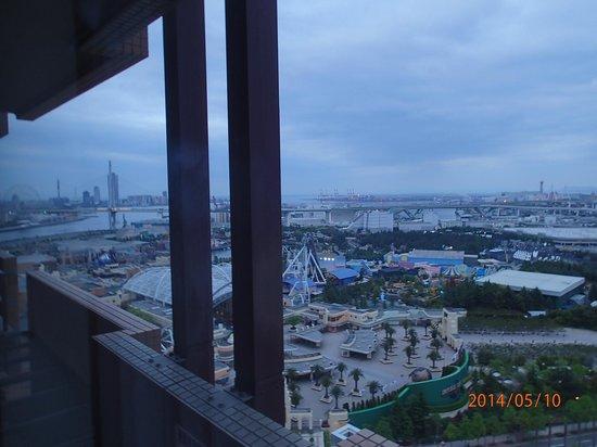 Kintetsu Universal City: 景色