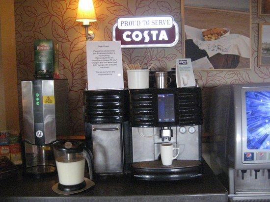 Premier Inn Carrickfergus Hotel: Coffee