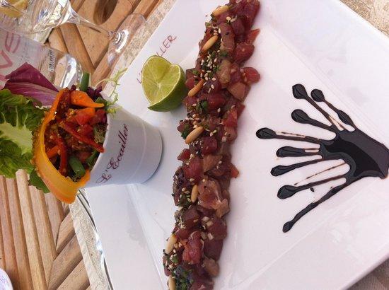 L'Ecailler : Tartare de thon