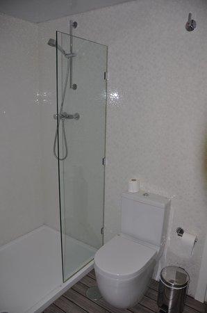 Hotel La Boutique Puerta Osario: Baño habitación 8