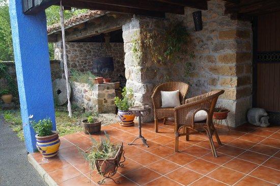 Llano de Con, สเปน: jardin