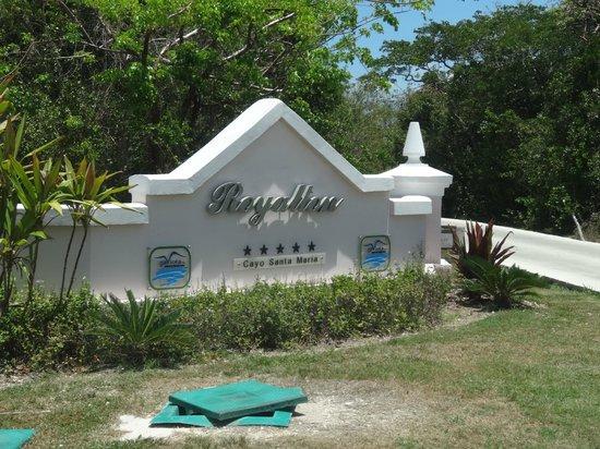 Royalton Cayo Santa Maria : entrée