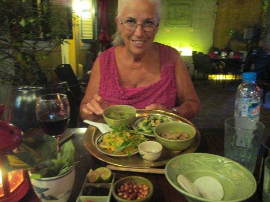 Madame Hien Restaurant: the platter