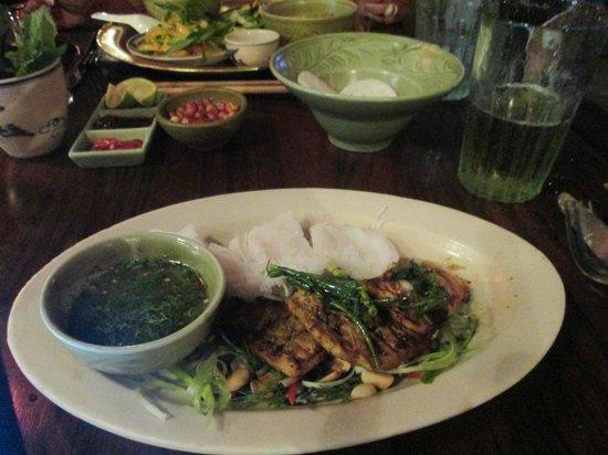 Madame Hien Restaurant: one of my dishes