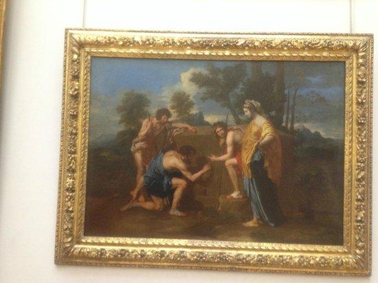 Musée du Louvre : I Pastori in Arcadia