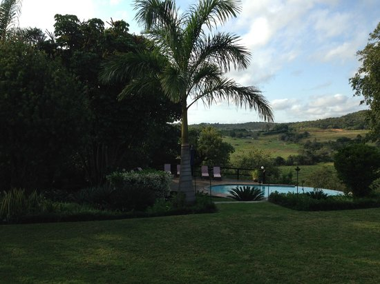Abangane Guest Lodge: Pool view
