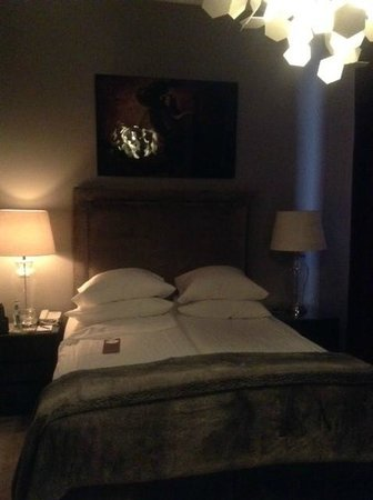 St. Petersbourg Hotel: Travelling solo but was given a luxurious double