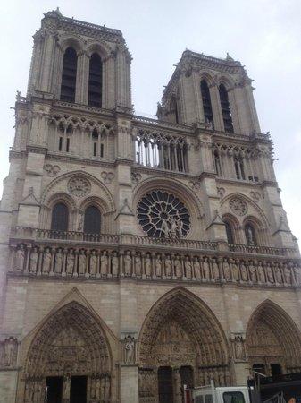 Cathédrale Notre-Dame de Paris : Vista esterna
