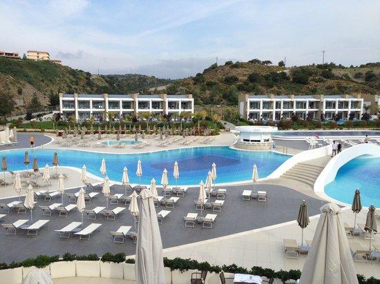 Princess Andriana Resort & Spa : Vue de la réception