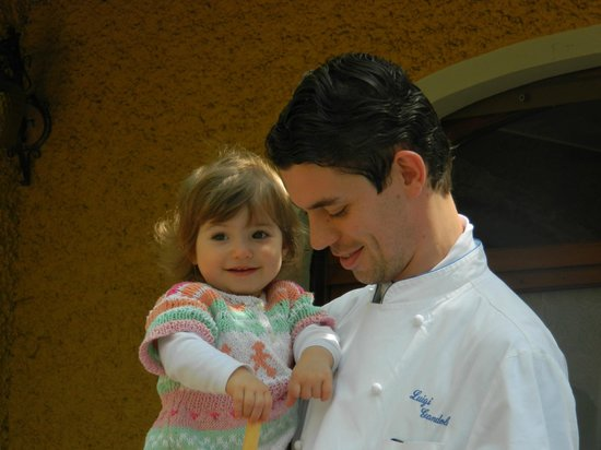 Salice Blu: Chef Luigi and the next generation