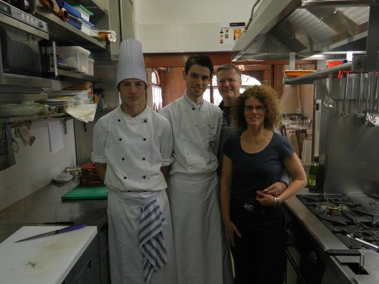 Ristorante Salice Blu: A wonderful day in the kitchen