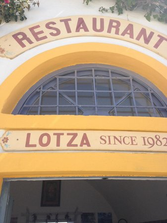 Lotza: The main entrance