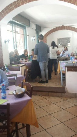 Hostaria Da Italo a Trastevere: La sala