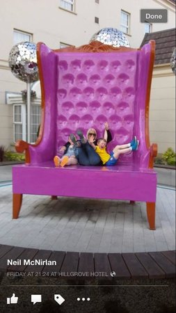 Hillgrove Hotel, Leisure & Spa : Funky fun