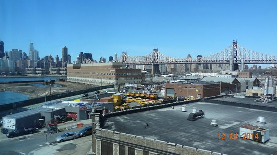 Wyndham Garden Long Island City Manhattan View: desde la hab 519