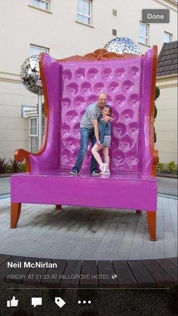Hillgrove Hotel, Leisure & Spa: Birthday girl