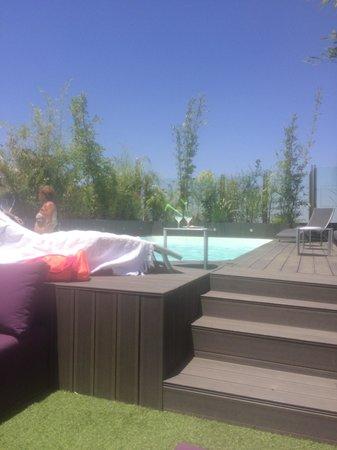Médina Loft : La piscine