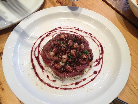 Restaurant Sel Gras : Bison Tartar